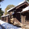 Photos: 旧安藤家門前