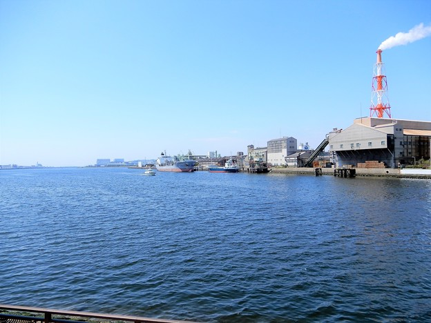 堺港・旧堺燈台付近からの眺め