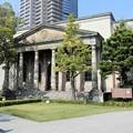 写真: 旧桜之宮公会堂 (1)<旧明治天皇記念館正面玄関>