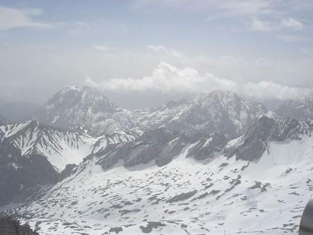 ツークシュピチェ山頂から(8)