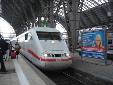インターラーケン行きICE(フランクフルト駅)