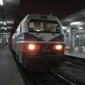 写真: ベオグラード行き列車(テッサロニキ駅)