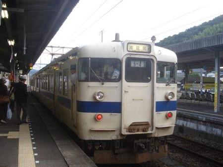 南延岡行き普通列車(佐伯駅)