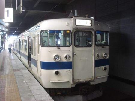 中津行き普通列車(小倉駅)