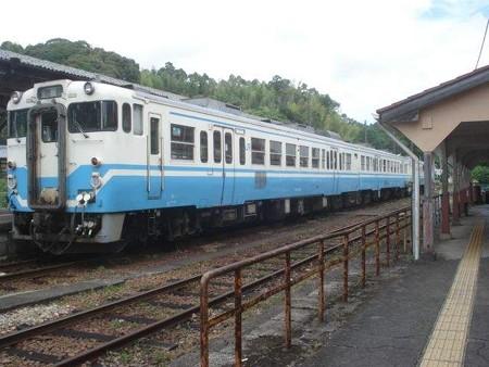 徳島行き普通列車(牟岐駅)