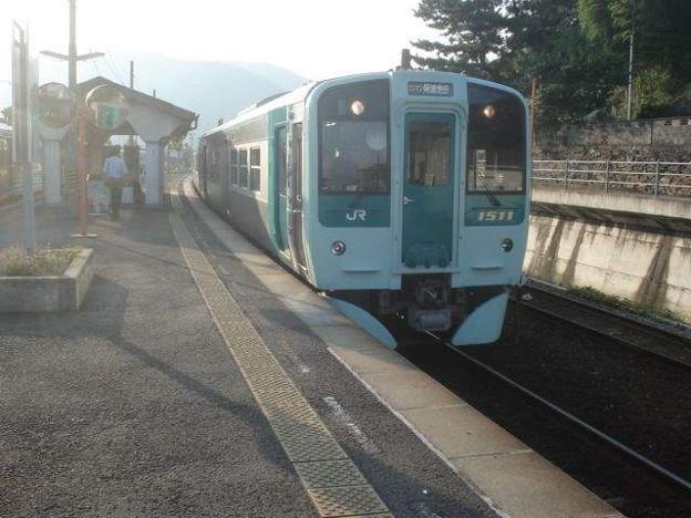 阿波池田行き普通列車(穴吹駅)