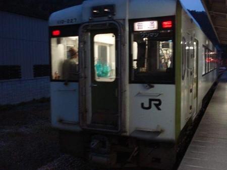 越後川口行き普通列車(津南駅)