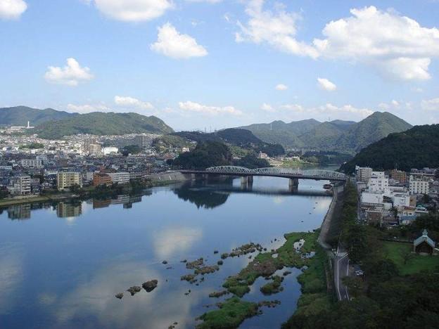 写真: 犬山城天守閣から(1)