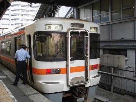 甲府行き普通列車(富士駅)