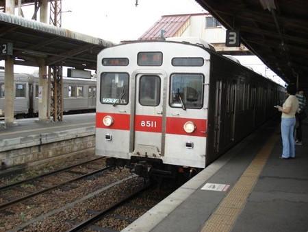 長野行き普通列車(須坂駅)