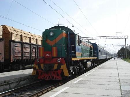 アルマティ行きN12列車(2)