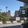 阪急逆瀬川駅東出口前。(2014年)