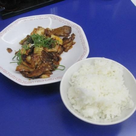 Photos: 定食の一部