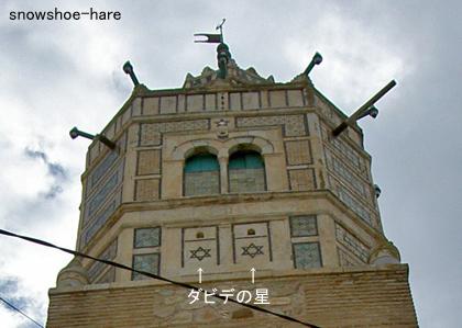 テストゥールのグランドモスクの塔