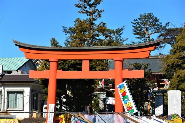 快晴の東伏見稲荷神社
