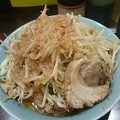 写真: 立川マシマシSSR 中ラーメン+豚マシ