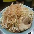 立川マシマシSSR 中ラーメン+豚マシ