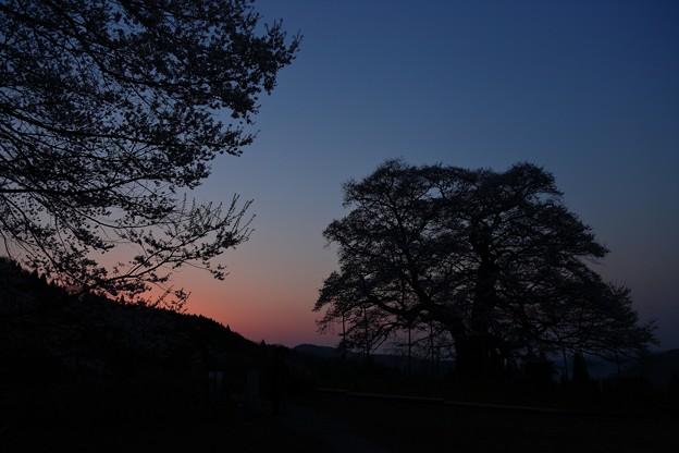 写真: 黎明の時