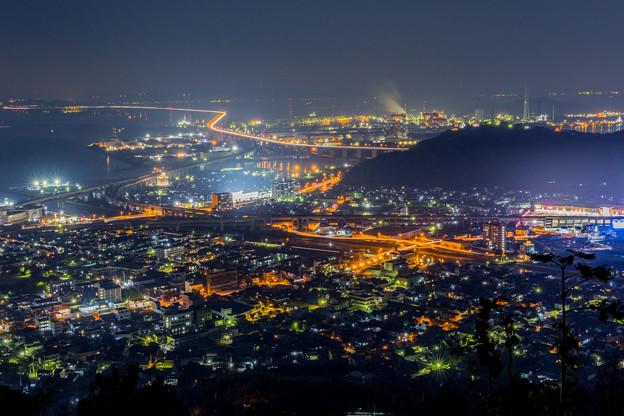 写真: 青の山展望台