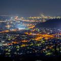 青の山展望台