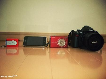 我が家のカメラ群。