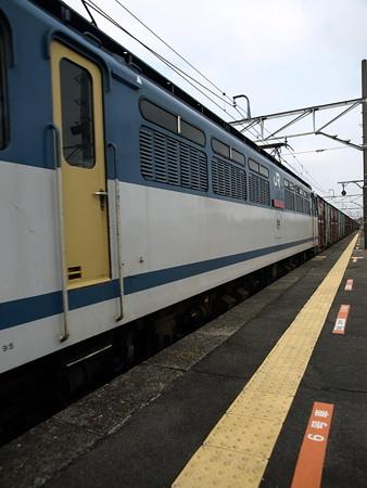 貨物列車(宝積寺駅)2