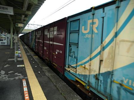 貨物列車(宝積寺駅)5