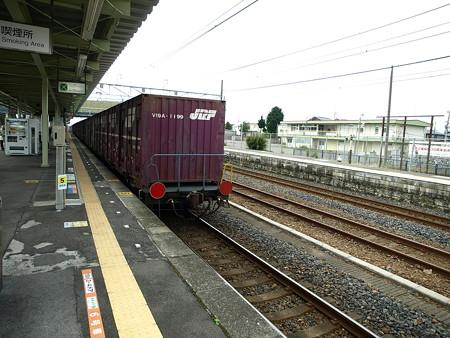 貨物列車(宝積寺駅)6