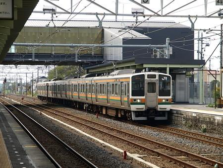 211系(宝積寺駅)7