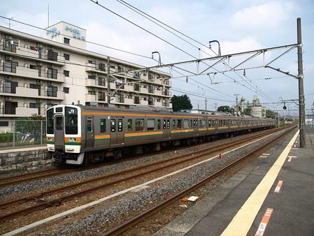 211系(宝積寺駅)8
