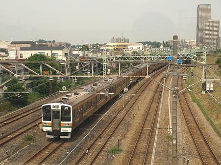211系東海道本線(東神奈川)