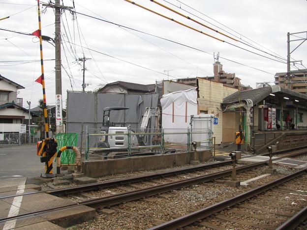 大保駅 東口旧駅舎除却完了後(2)