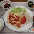 7月24日夕食(蒲郡競艇場職員食堂)