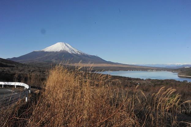 富士山と山中湖