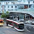 写真: 熊本駅前