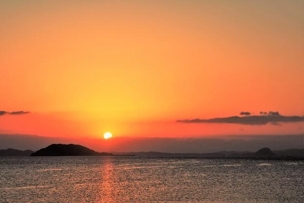 写真: 有明海