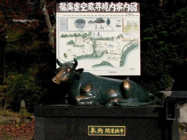 柳津 虚空蔵様の撫牛 1031-21