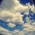 *同じ窓から見てた空*