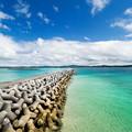 写真: 沖繩 チグヌ浜