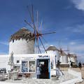 写真: エーゲ海の風