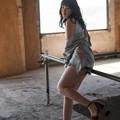 Photos: 廃墟の彼女