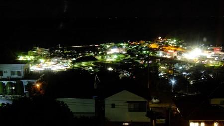 熊野市街の夜景