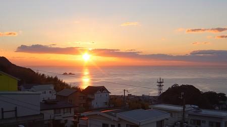 熊野灘 12月朝日 7:07