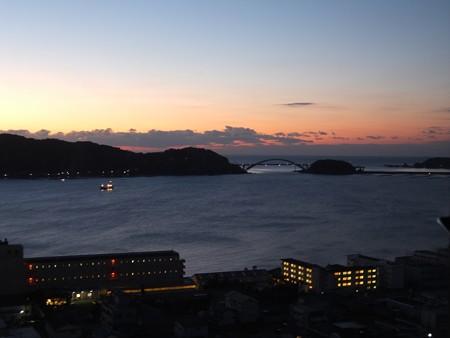 串本の夜明け02 くしもと大橋