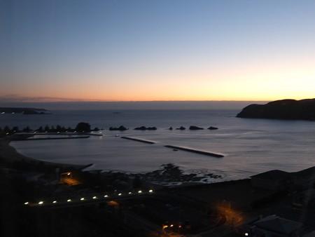 橋杭岩の夜明け 6:30