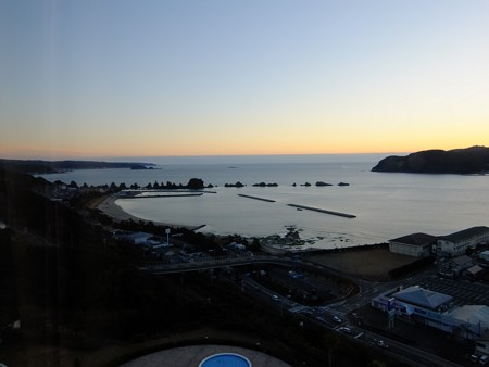 橋杭岩の夜明け 7:05