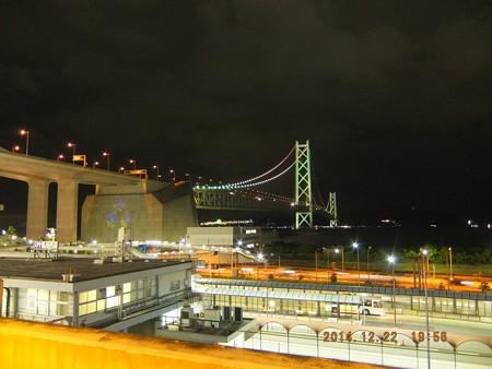 明石海峡大橋02 舞子駅から