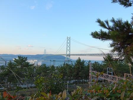 明石海峡大橋13 世界最長の吊り橋