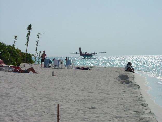 モルディブ-無人島