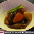 写真: 野菜の旨み感じる筑前煮
